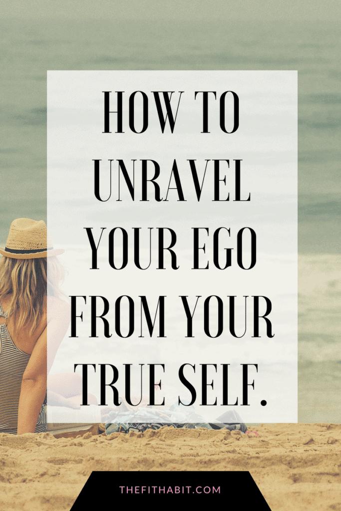 ego vs true self