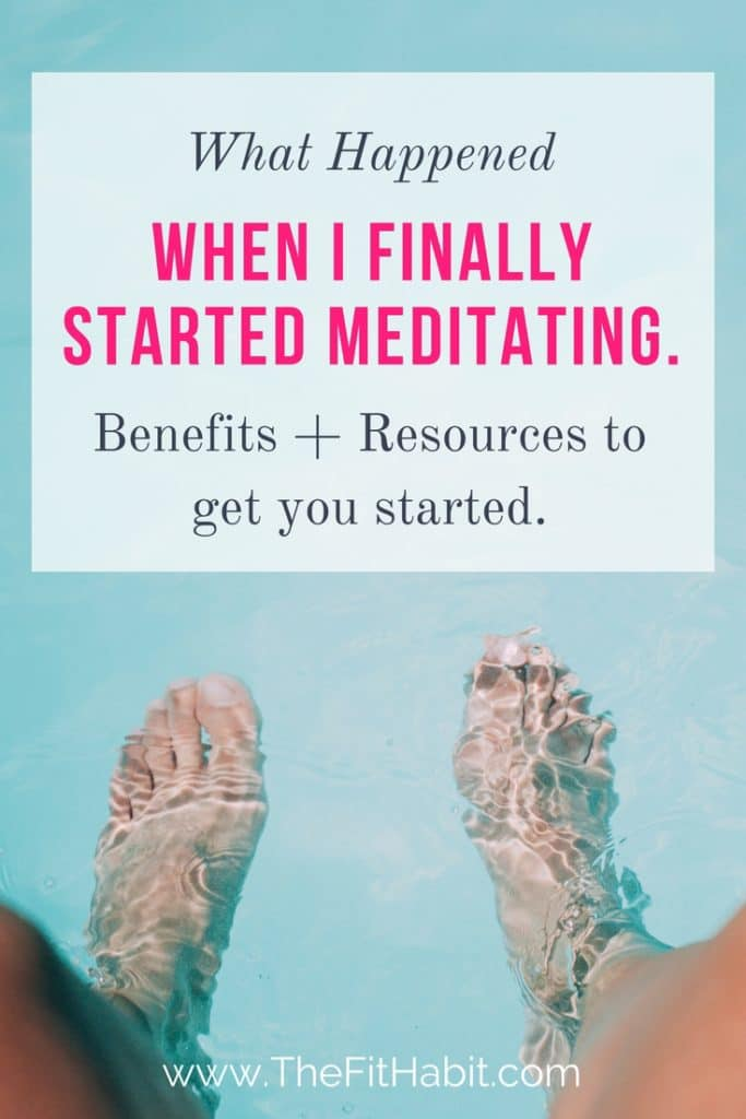 resources and tools to get you started with meditating