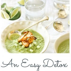 A Natural Detox Soup Recipe (that actually tastes amazing)