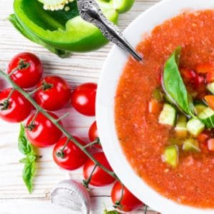 Plant-based Gazpacho Recipe with Added Protein