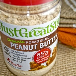{OMG} Low Fat Organic Powdered Peanut butter.