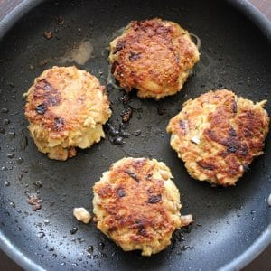 High Protein Tuna Cakes (seriously amazing)