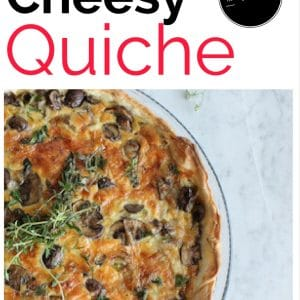 Cheesy Vegan Quiche Recipe – Low Carb, High Protein