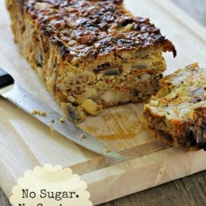 {EAT} THANKSGIVING PALEO VEGGIE NUT ROAST #NSNG