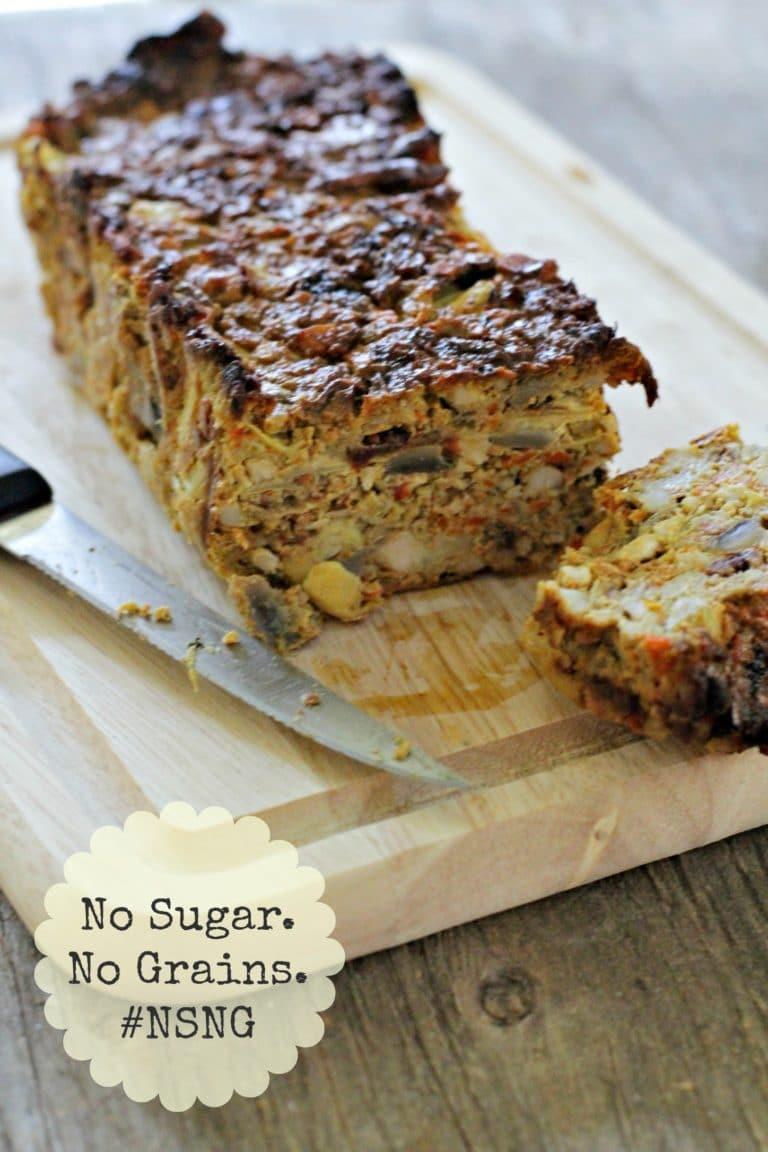 veggie nut roast gluten free