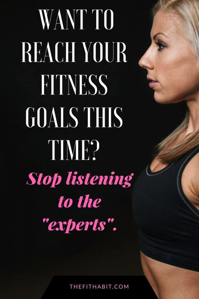 how to reach your fitness goals