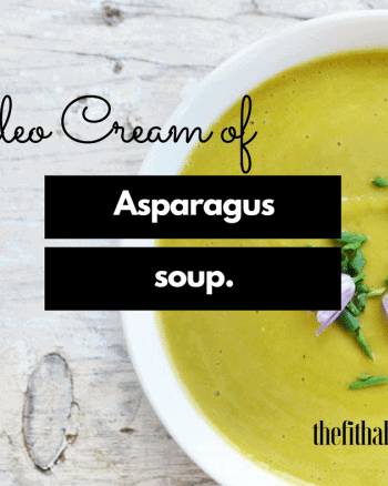 paleo cream of asparagus soup