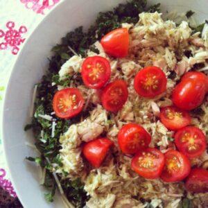 {EAT} Mexican Tuna Kale Salad
