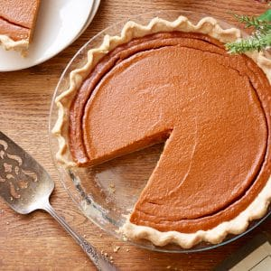 Protein Pumpkin Pie Recipe + A Fit-Inspired Thanksgiving Menu