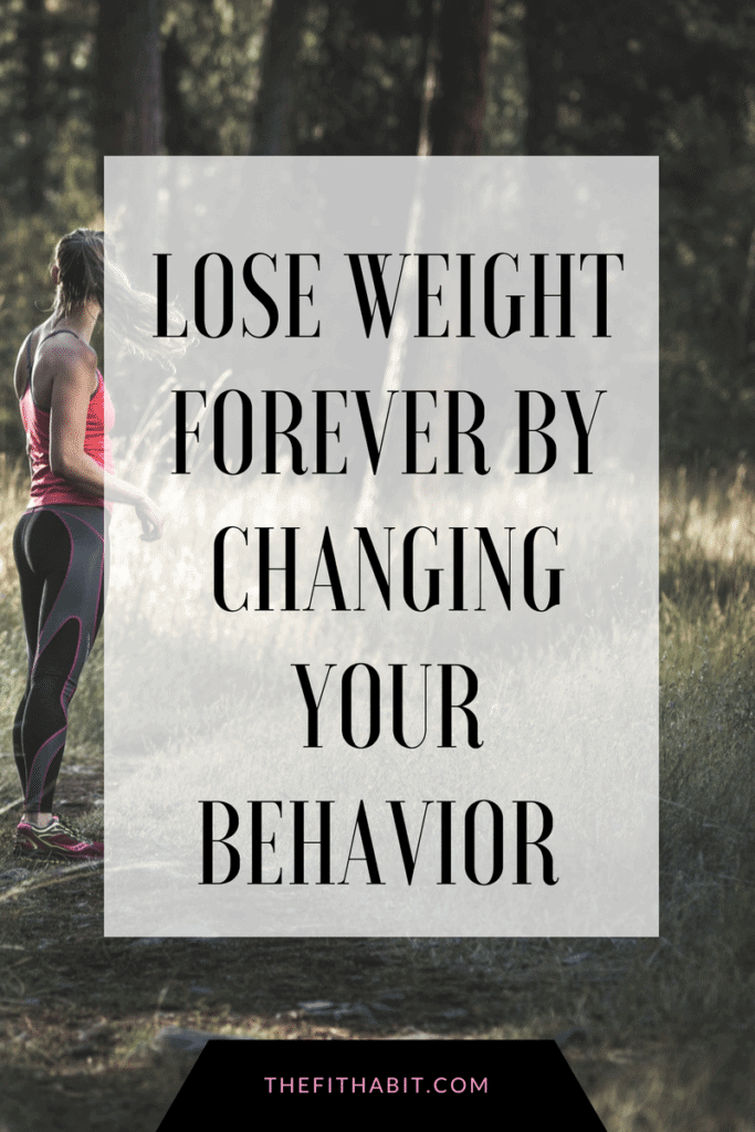 lose weight with behavior change