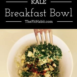 Avocado, Egg + Kale Breakfast Bowl