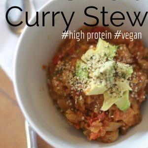 Lentil curry stew recipe
