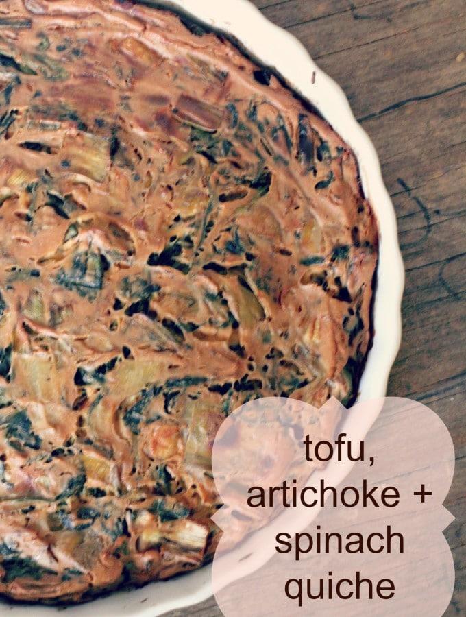 tofu quiche recipe