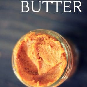 Sugar Free Pumpkin Butter Recipe