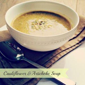 Cauliflower Artichoke Soup Recipe – Paleo & Gluten Free