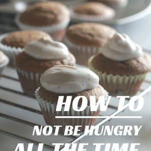 How to be less hungry.