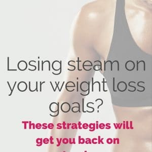A New Year's Goal Hangover Cure: Getting back on track with weight loss goals.