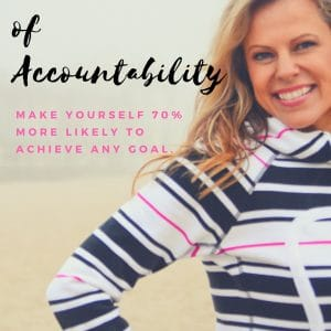 Episode 8: The Power of Accountability: Make yourself 70% more likely to achieve any goal.
