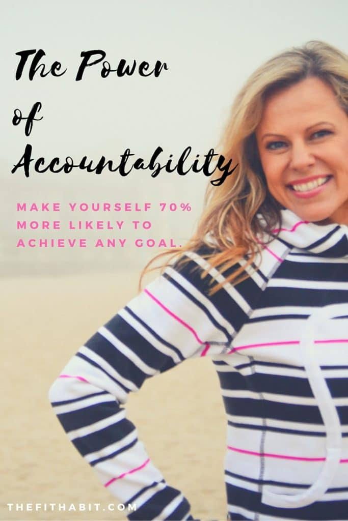 accountability and goal setting