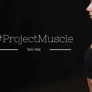 A wake-up call and a new direction. #ProjectMuscle Starts Today.