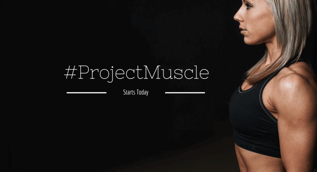 muscle building women