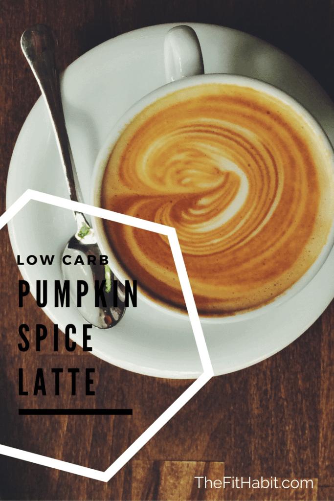 pumpkin spice latte low carb