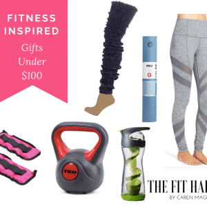 7 Fitness Inspired Gift Ideas Under $100