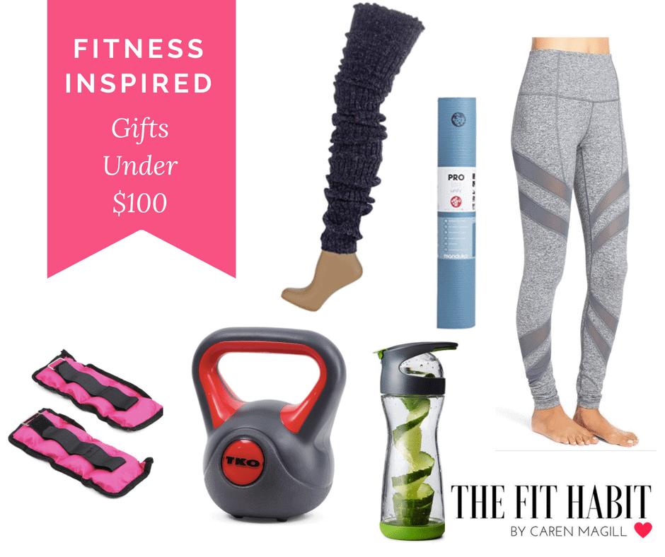 7 Fitness Inspired Gift Ideas Under $100