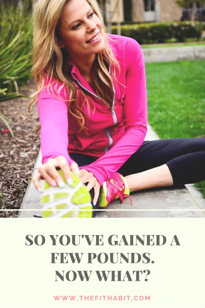 what to do when you've gained weight