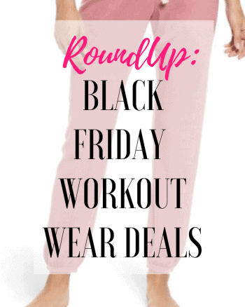 Obsessed With Workout Clothes?  Here's Your Sale Picks for Black Friday.