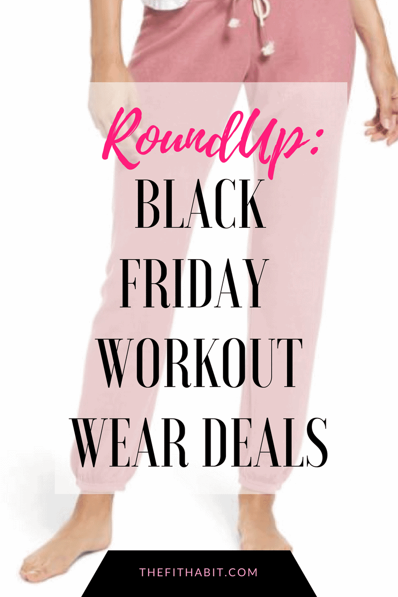 black Friday workout clothes sales
