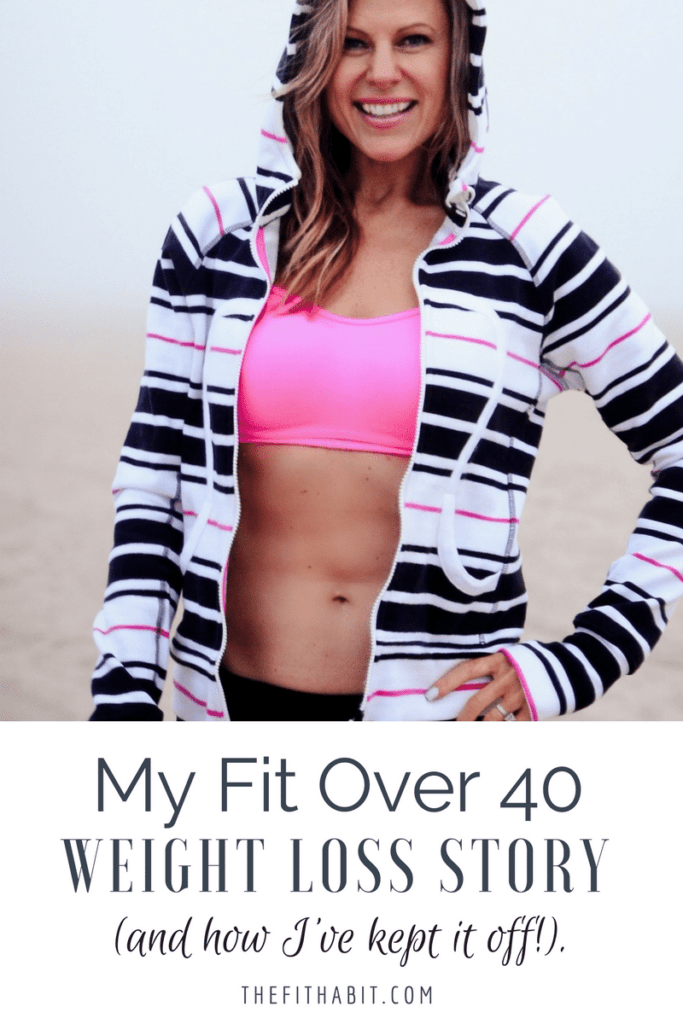 weight loss over 40