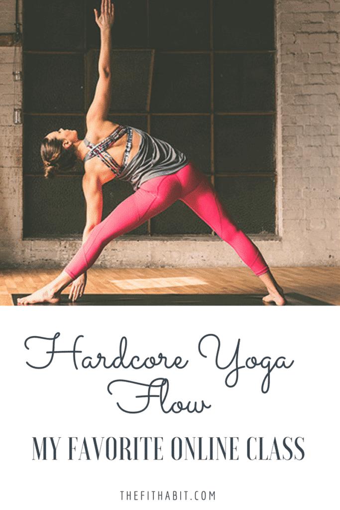 free online yoga class intermediate