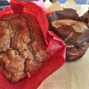 Grain-Free, Gluten-Free, Sugar-free Apple Cinnamon Muffins