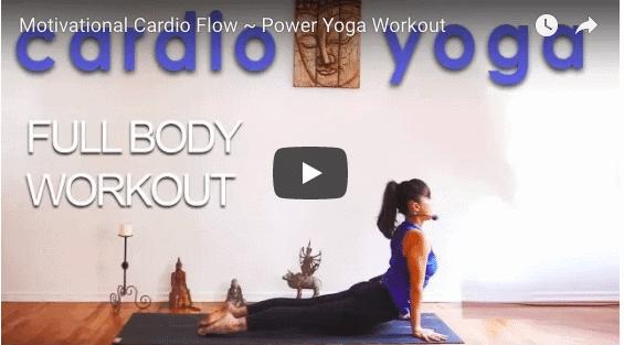 A Cardio Vinyasa Class with an Inspiring Message (47 Mins, Intermediate)