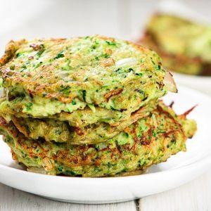 Paleo, Gluten Free Zucchini Fritter Recipe