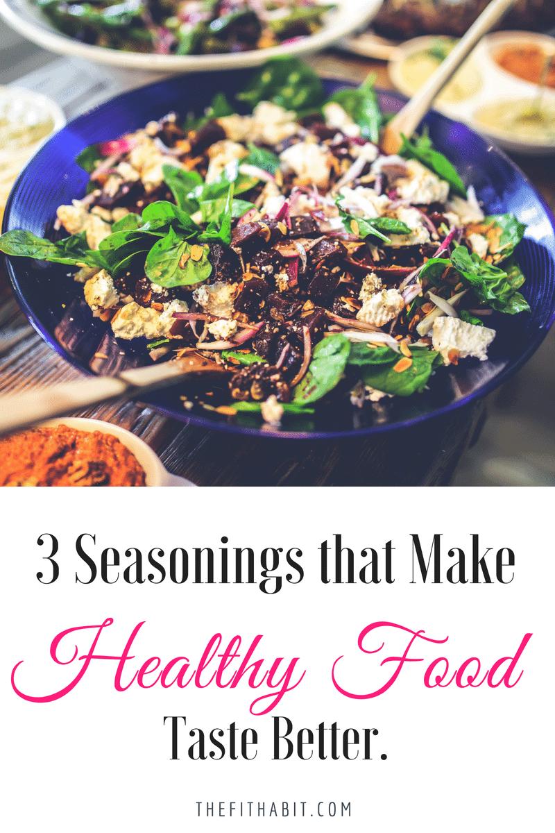 make healthy food taste better