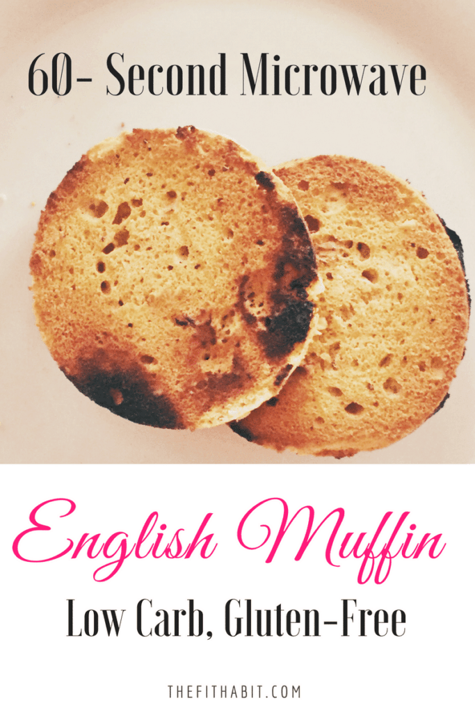microwave english muffin recipe low carb high protein gluten free