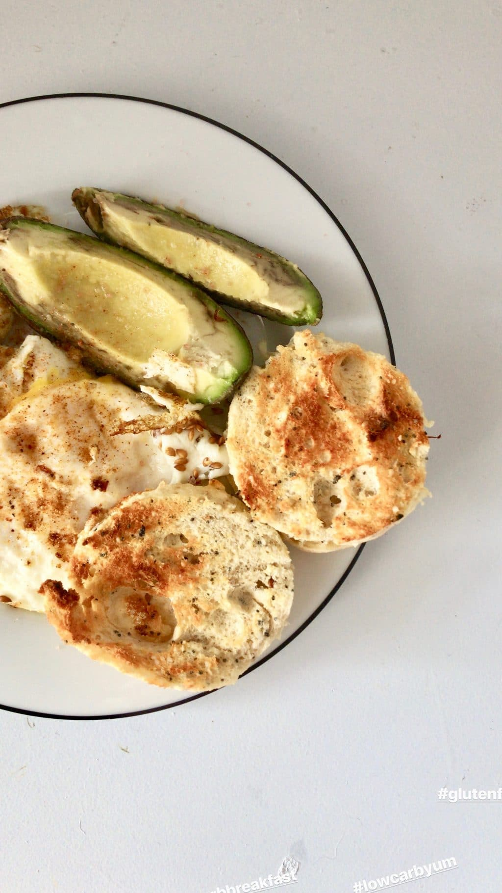 low carb english muffin recipe