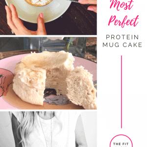Vanilla Protein Mug Cake Recipe – Quick, Delicious and Gluten-Free