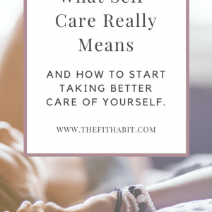 Your Self-Care Practice: It's not a mani/pedi