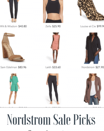 Nordstrom Sale Picks For Casual Office Attire & Fitness Apparel