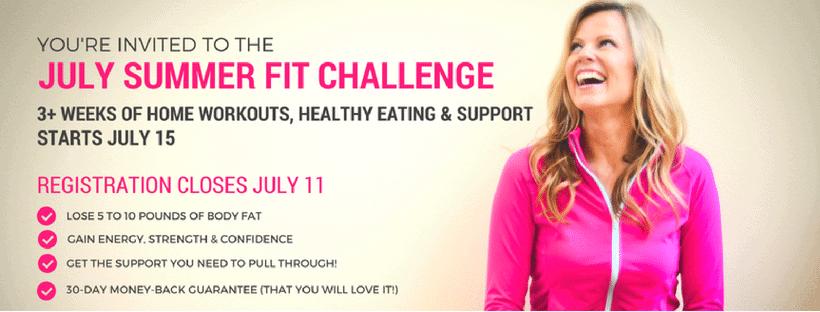 summer fit challenge