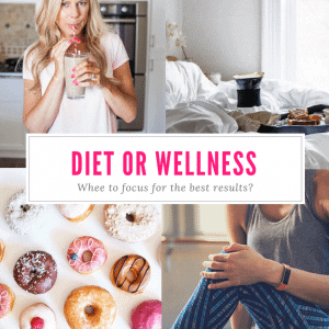 Diet & Exercise or Wellness? Where to focus to get the best results.