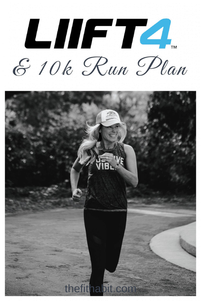 10K Running Plan with strength training