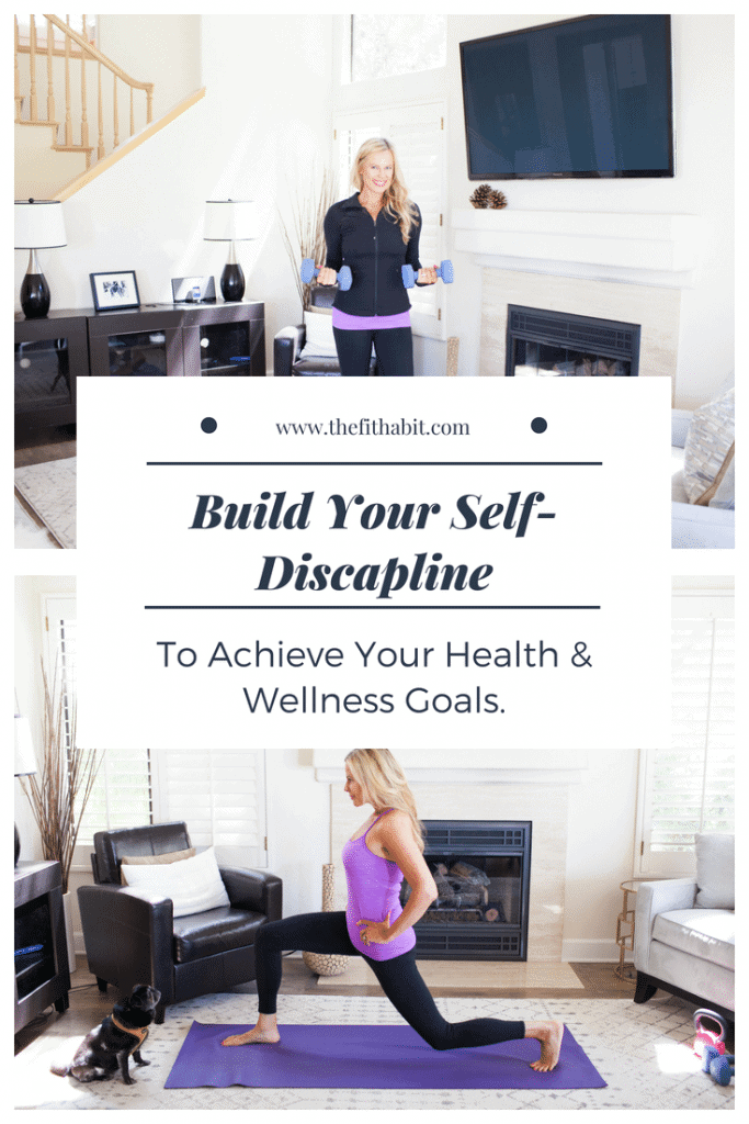 self discipline to reach goals