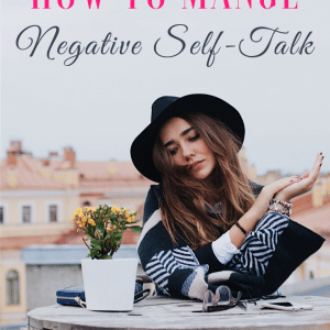 Negative Self-Talk Holding You Back?  Here's How to Control it