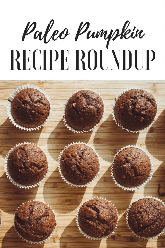 Paleo recipe pumpkin spice muffins