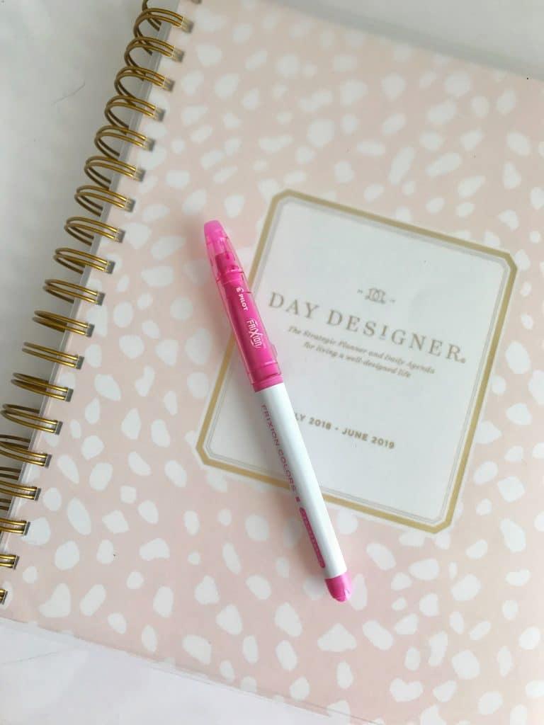 goal planning day designer