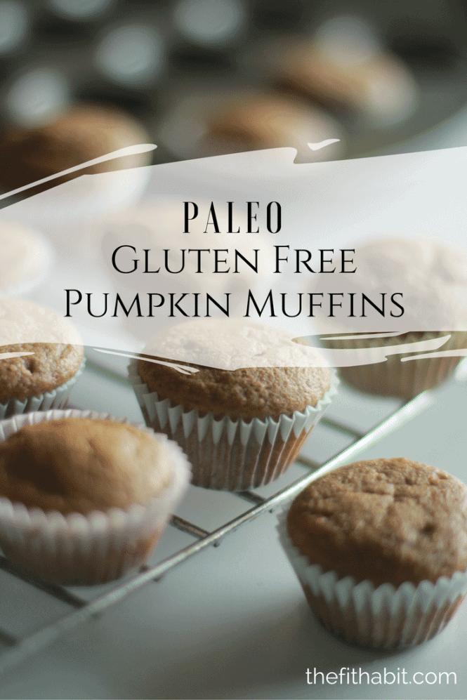 gluten free paleo pumpkin muffins